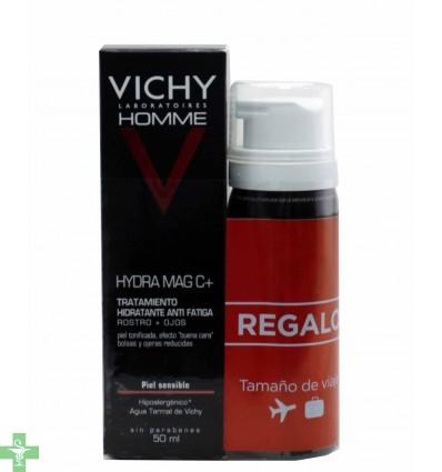 Vichy Homme Hydra Mag C + Regalo Sensi Shave Mousse Afeitado